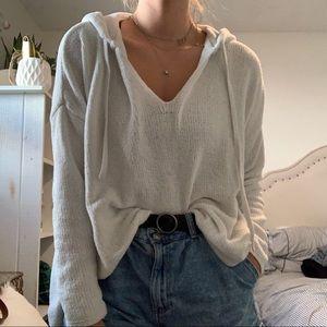 Aerie Hooded Shirt